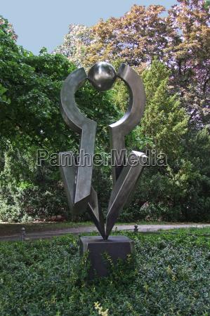 arte parco scultura acciaio inossidabile berlino