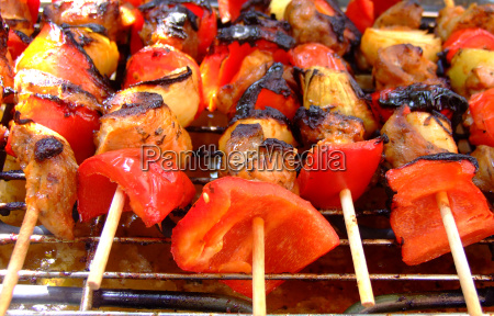estate gusto cipolla paprika peperoni griglia