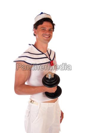 muscoli poznan atletico sportivo sexy manubrio