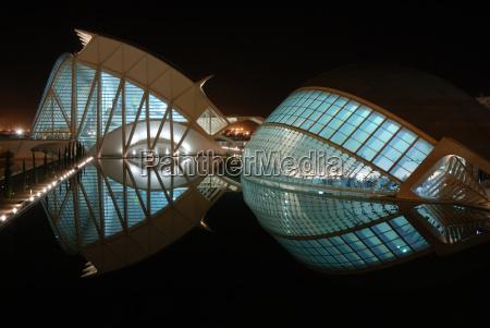 edifici futuristici a valencia