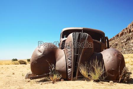 deserto africa namibia auto veicolo mezzo