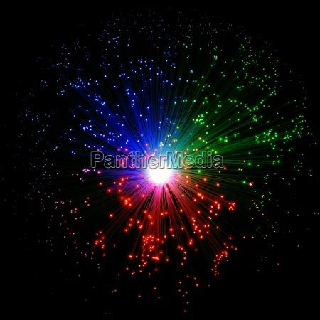 luce lume corpo luminoso lampada fibra