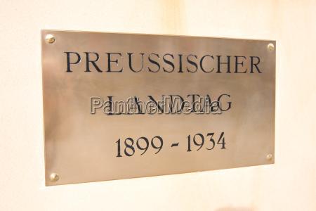 prussian landtag