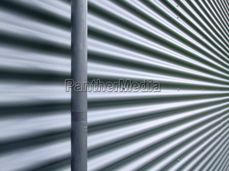 argento metallo facciata struttura ombra ombre