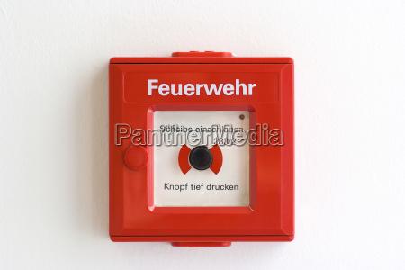 pericolo emergenza allarme allarme antincendio chiamata