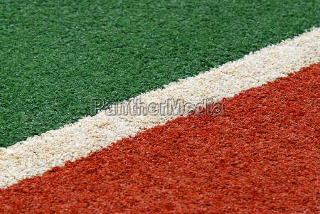 verde campo caucasico bianco diagonale hockey