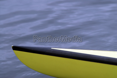 punta della barca di canottaggio