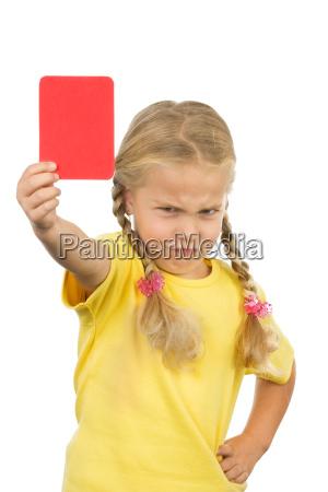 spettacolo mano tenere mappa rossastro ammonizione