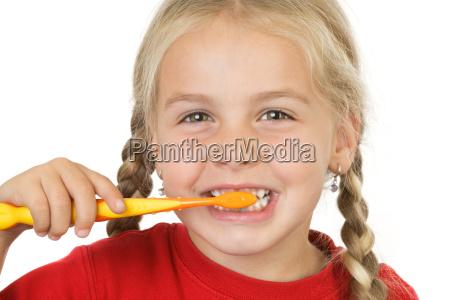 fornitura denti ripulire cura dei denti
