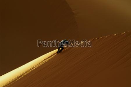 deserto libia duna salita sabbie sabbia