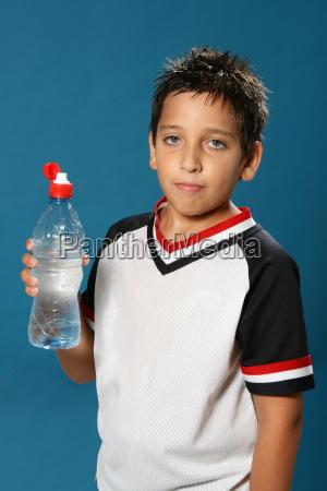 thirsty, boy, drinking, water - 1556109