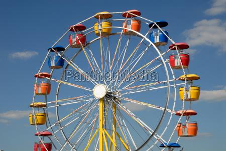 ruota panoramica colorata