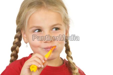 denti ripulire cura dei denti giovani
