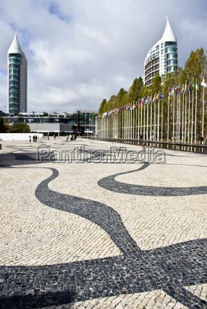 europa portogallo esposizione mondiale bandiere unione