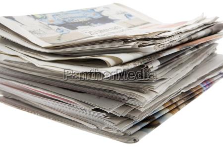 stampa stack sprint dei giornali