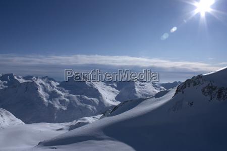 winter in der schweiz 2009