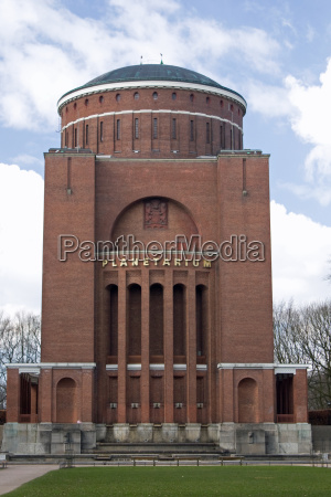 amburgo castello dacqua planetario osservatorio cinema