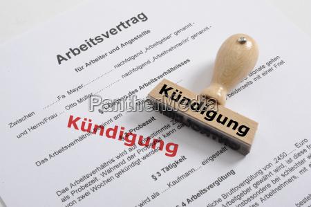 cessazione del contratto di lavoro