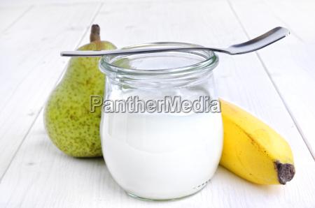 yogurt in vetro