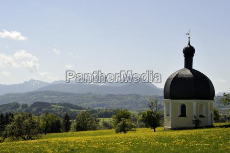 chiesa baviera alta baviera pellegrinaggio wallfahrtskirche