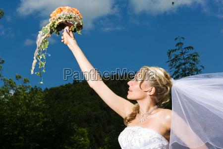 estate mazzo bouquet alzare sollevare sostenere