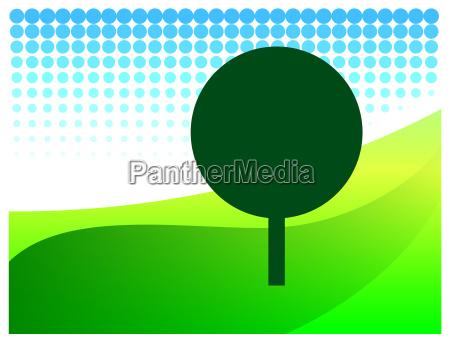 logo tree country