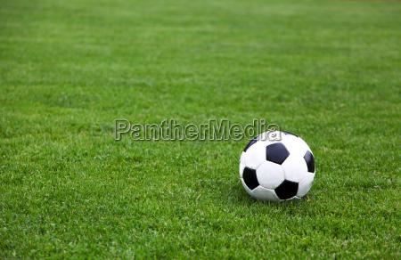 soccer ball on atletica