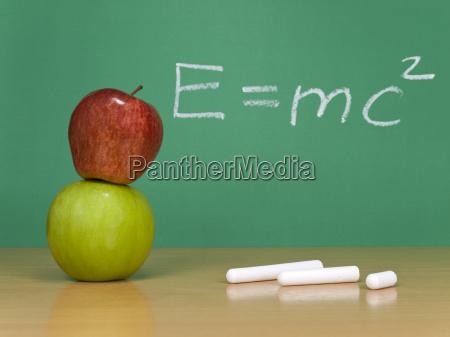educazione verde frutta formula mela rosso