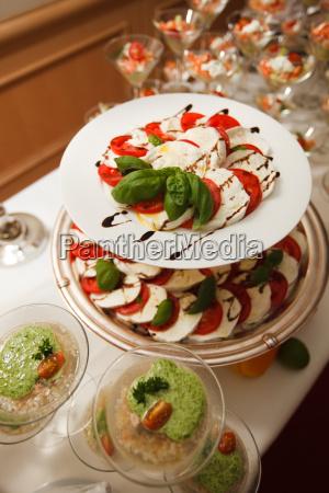 mediterraneo pomodori buffet