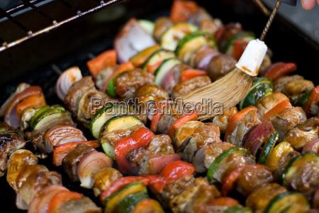 shish, kebabs, sulla, griglia - 2278307