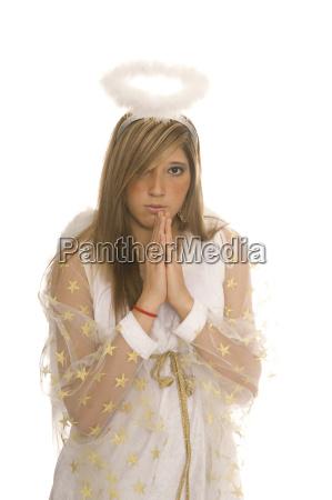woman hand hands pray angel angels