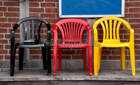 nero sedie tingere colori nazionali colori