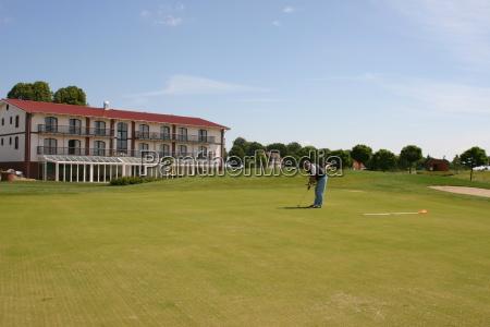uomo umano golfo campo da golf