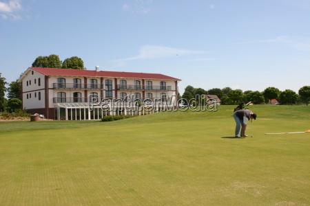verde golfo campo da golf golfista