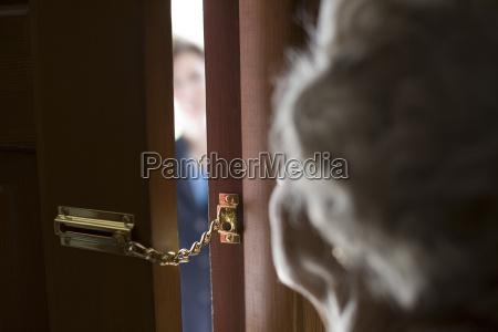 straniero alla porta