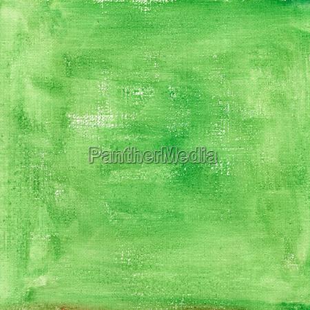 acquerello verde astratto con trama tela