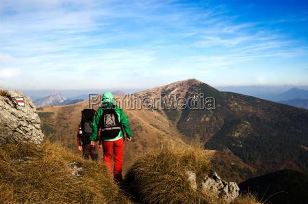 mountaineering autumn season