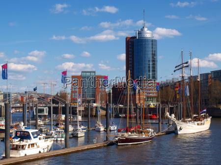 porto amburgo porti elba fiume acqua