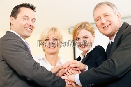 lavoro di squadra e affidabilita
