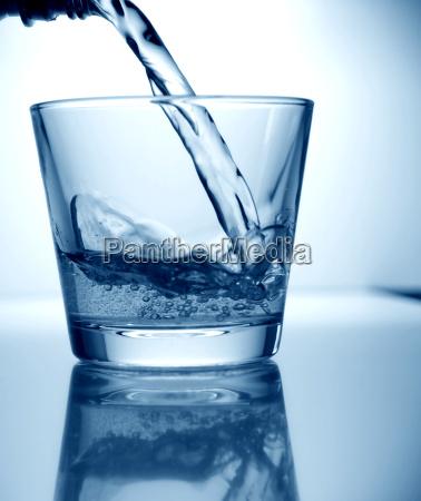 bicchiere bere consumo responsabilita sostenibilita acqua