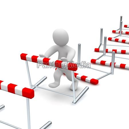 abbattere gli ostacoli