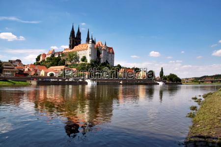 citta germania elba cincia fiume acqua