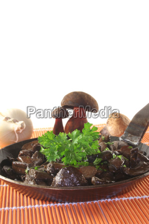 mushroom pan