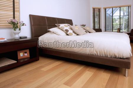 interni di una camera da letto