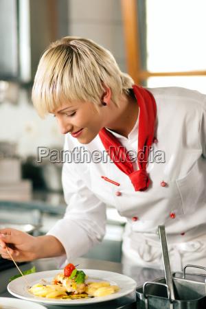 cook cottura in ristorante