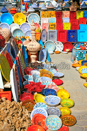 africa tunisia piatto tradizionale bazar gres