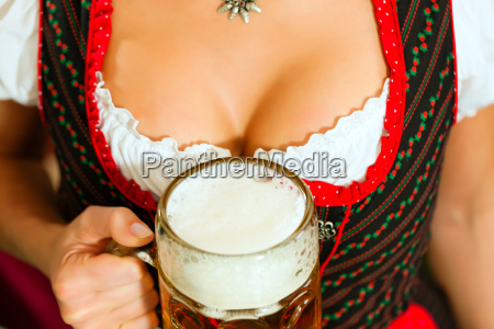 baviera birra costume birreria octoberfest decollete