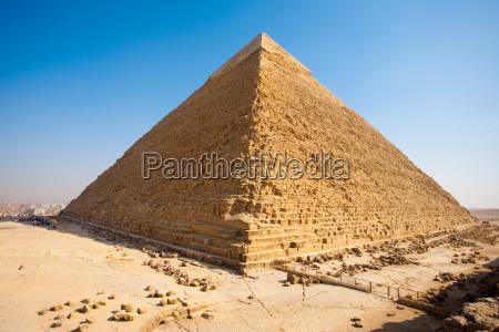 piramide di chefren giza posteriore