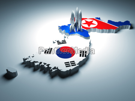 sud attaccare nord corea razzo attacco