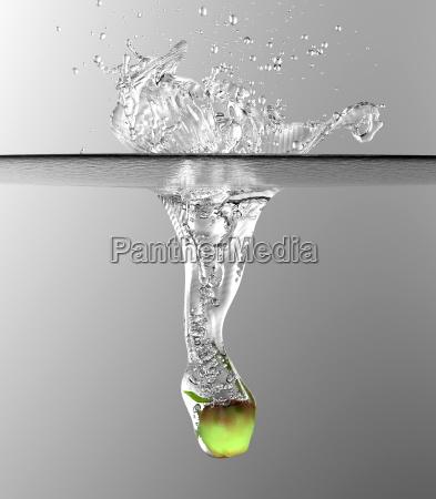 liquido onde onda impatto urto aumento